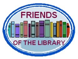 friends of the library graphic